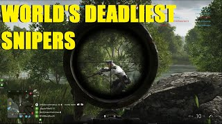 Battlefield V - MLG PRO Sniper Squad! XD Crimes and Ninja to the rescue!