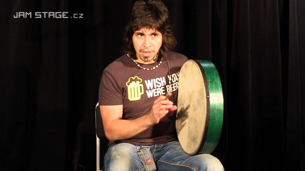 REMO Brian Howard Bodhran (Camilo Caller) - YouTube