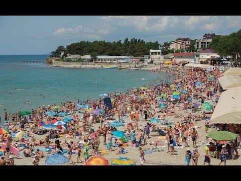 пляж в дивноморское фото