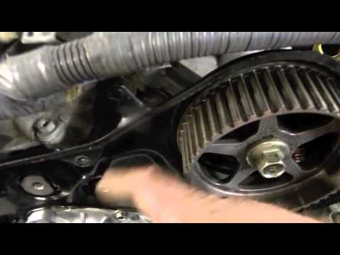Timing Belt On A Toyota Camry 30l - YouTube