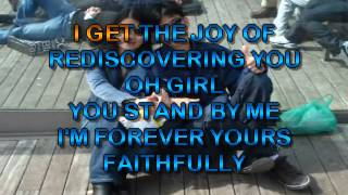 Journey   Faithfully- karaoke