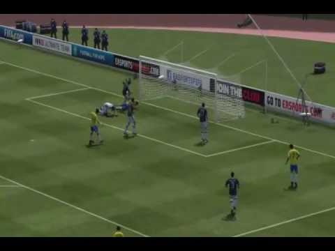 fifa 13[TH gameplay]BRAZIL[เนย์มาร์] vs ARGENTINA [เมสซี่]
