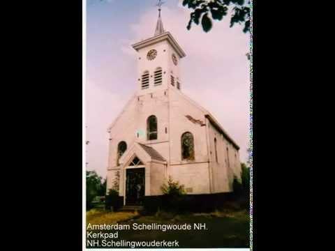 AMSTERDAM (SCHELLINGWOUDE) NH. KERKPAD NH.KERK 1866