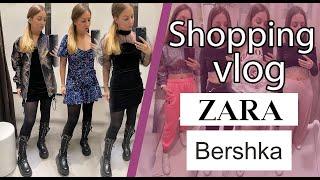 Шоппинг Влог ZARA SHOPPING VLOG новогодние образы ZARA BERSHKA
