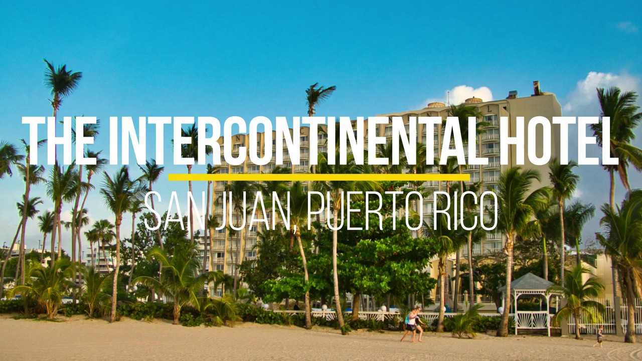 Intercontinental san juan resort /u0026 casino puerto rico snoqualmie casino music calendar