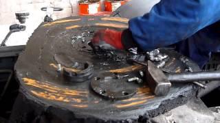 Repair fifth-wheel - Wymiana podkówki siodła JOST + regulacja