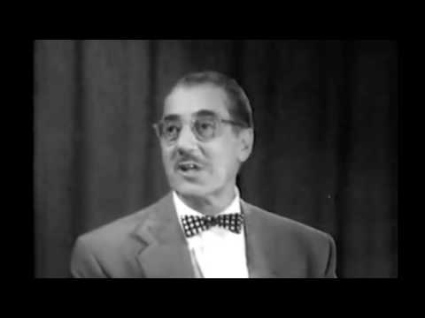 Dr. Sammy Lee on You Bet Your Life with Groucho Marx  1956