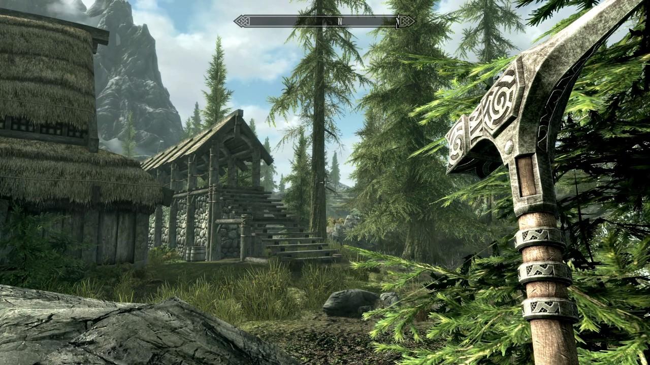 the elder scrolls v skyrim special edition ps4 pro gameplay 4k youtube. Black Bedroom Furniture Sets. Home Design Ideas