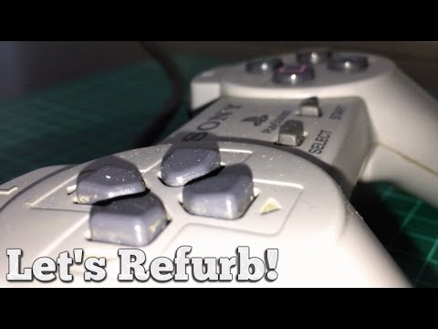 Let's Refurb! - How to Clean a PS1 Controller