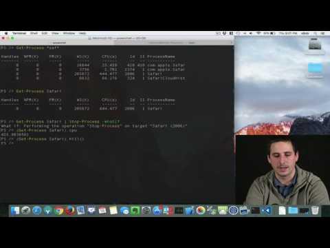 PowerShell on Mac OS X : PSB E13