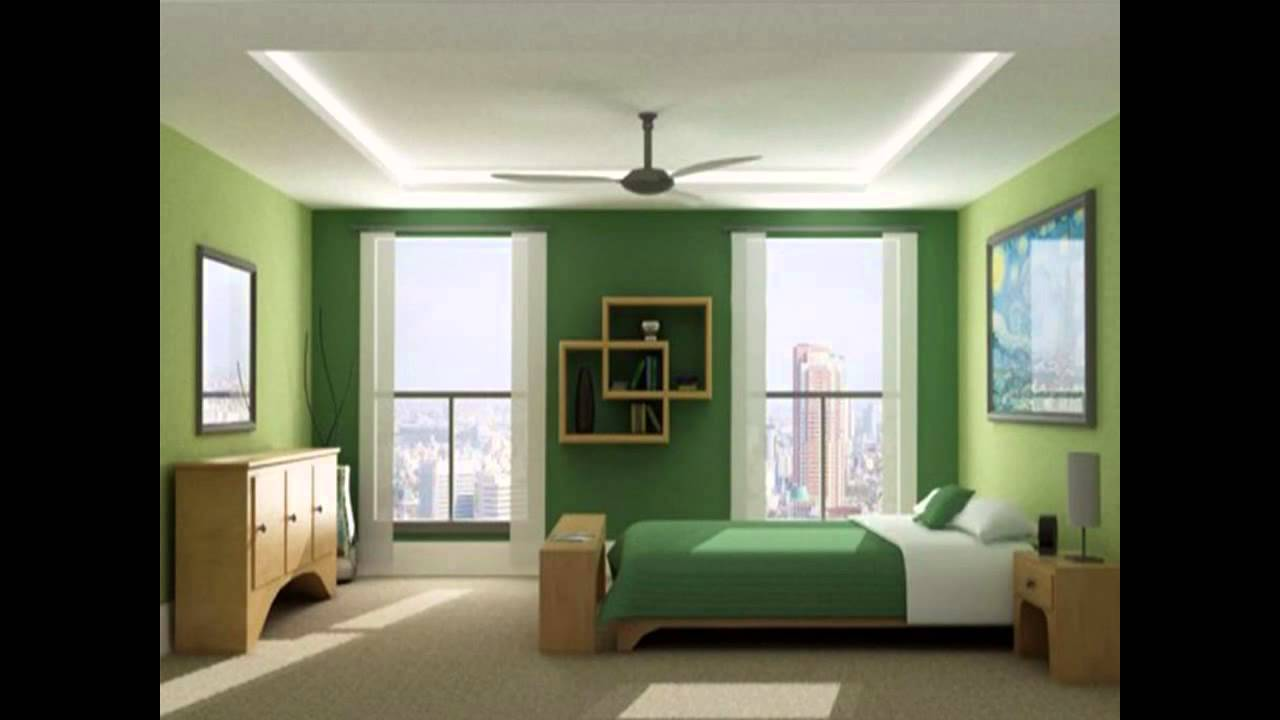 Small bedroom paint ideas youtube for Interior bedroom designs small rooms