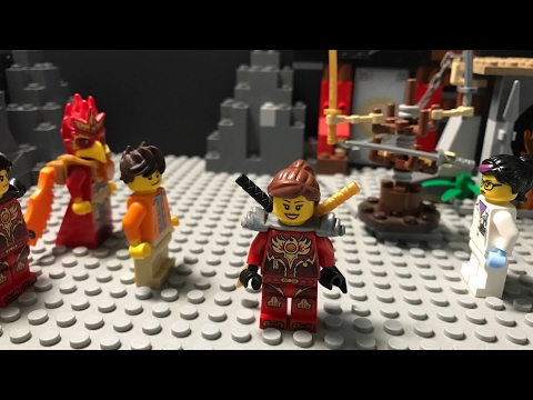 """LEGO Rise Of A Phoenix Warrior Ep.3: """"An Ancient Clan"""" [4K]"""