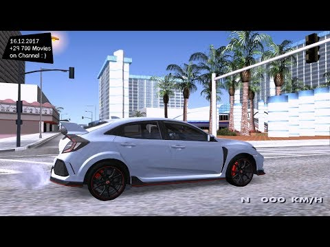 2017 Honda Civic Type R Grand Theft Auto San Andreas GTA SA MOD
