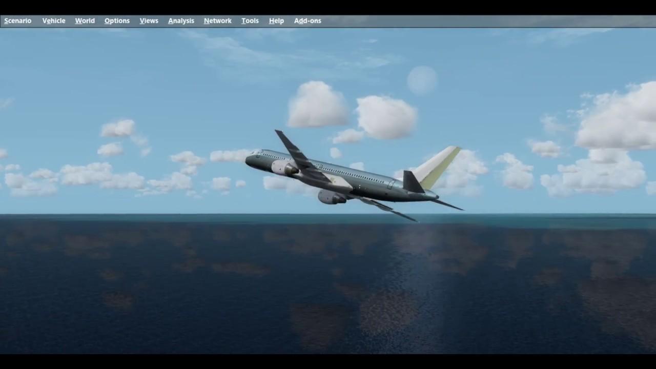 Qualitywings Boeing 757-200 CRASH - Flight Simulator 2017 P3Dv3