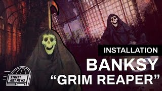 "Banksy ""Grim Reaper"" Installation For ""Better Out Than In"" - Audio Guide #9"