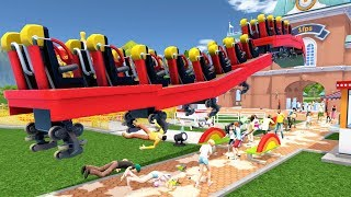 I Built a 500+ MPH Roller Coaster and This Happened - Rollercoaster Tycoon World