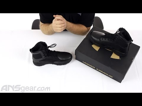 61487b8c Under Armour Stellar Tactical Boots - Review - YouTube