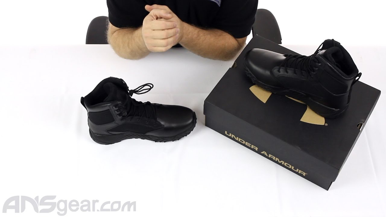 94b1bbb96e9fc Under Armour Stellar Tactical Boots - Review - YouTube