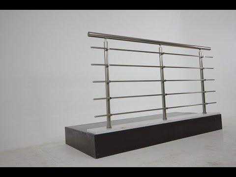 BTS - RL10 Aluminum Railing Installation . BTS - RL10 Aluminyum Korkuluk Küpeşte