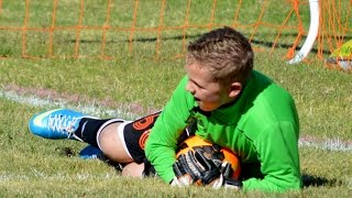 11 Year Old - Great Goalkeeper Saves