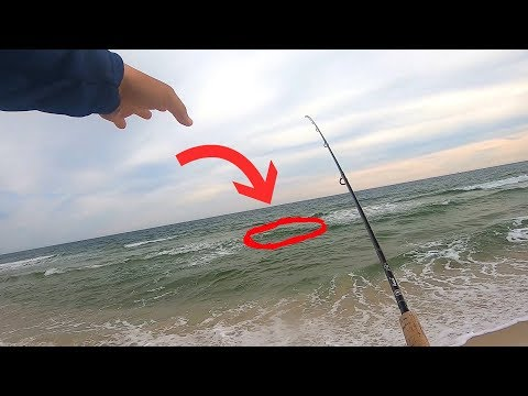 Locating Fish In The Surf During A Slow Bite