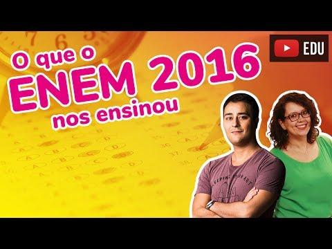 Enem: O que o ENEM 2016 nos ensinou? (ProUni)