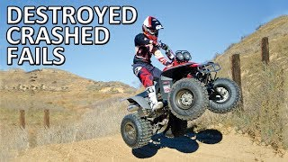 QUAD & Four-Wheeler FAILS