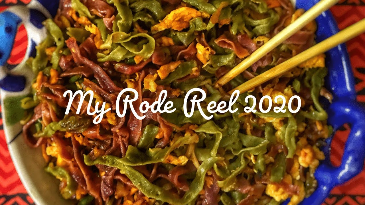 Make Colored Ramen bitches | My Rode Reel 2020