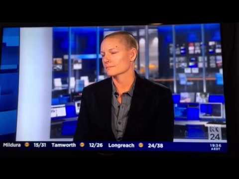 Moo Baulch on ABC  24