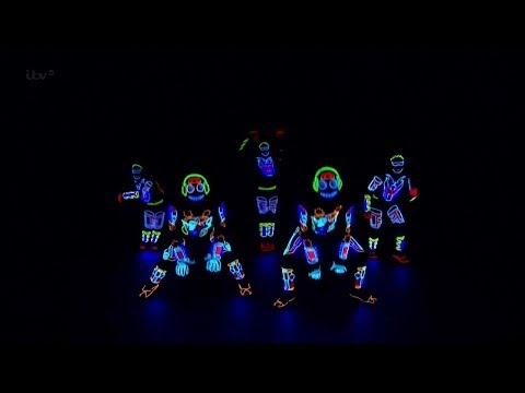 Britain's Got Talent S08E01 Light Balance Electric Dance Group