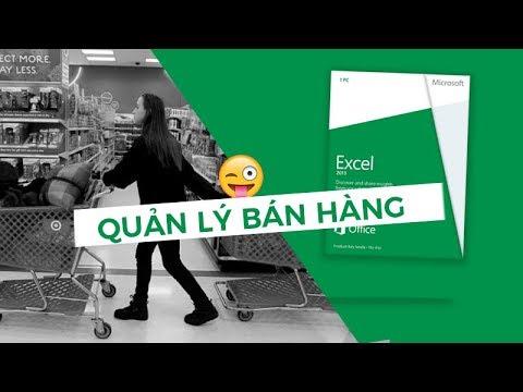 Quản lý bán hàng online bằng excel – Siêu chuẩn
