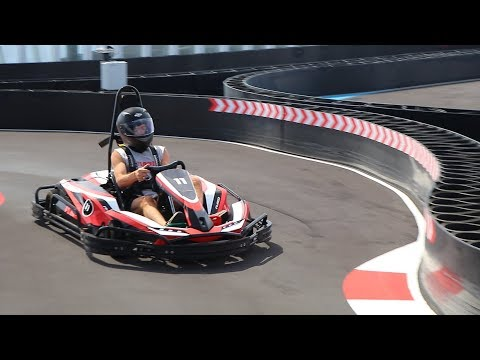 Perry & The Posse - Go-Karts...On A Cruise Ship!
