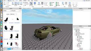 Roblox - How to make a basic drift car