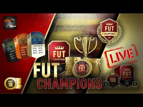 FUT Champs Live - The Friday Night Grind Is On - Fifa 18