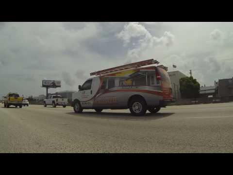 Miami Lakes to Kendall, Florida on Palmetto Expressway to Dixie Highway,  3 August 2016, GP100068