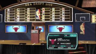 NBA 2K10 My Player Mode - The Draft!!!!!!