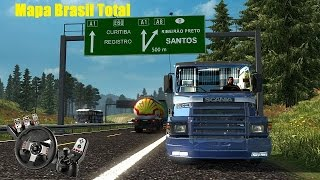 Como colocar mapa Brasil Total V.5 no ETS2 [todas versões]