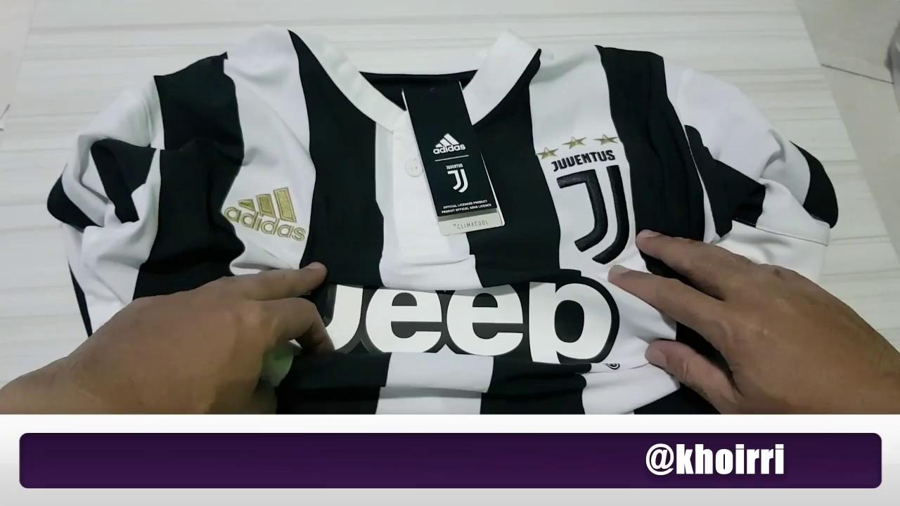384015c9f Jersey Juventus Home 2017 2018 Original Seperti Apa Sih? - YouTube