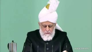 Swahili Friday Sermon 9th March 2012 - Islam Ahmadiyya
