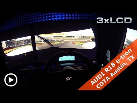 Audi R18 e-tron quattro ONBOARD | COTA Austin | Train Like Rene Rast | Assetto Corsa