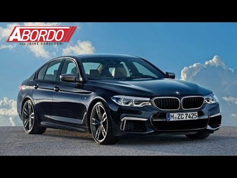 El BMW M550 2018 es un pequeño anticipo de lo que esperamos en el nuevo M5