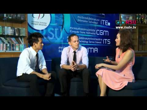 "WISDOM TV ""IT Click"" Interview with ICT Lecturer Ajarn Sascha Funk"