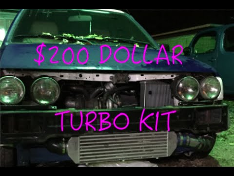 Ford Festiva: 200 Dollar Turbo Build Overview