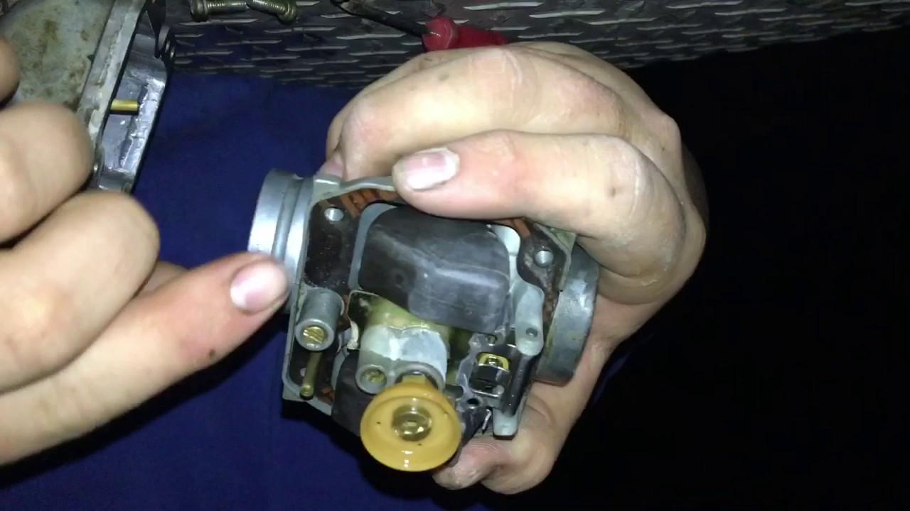 Kawasaki Bayou 250 Carburetor Diagram Nj Straight Line How To Adjust Your Idle Scrub Screw For Must Watch