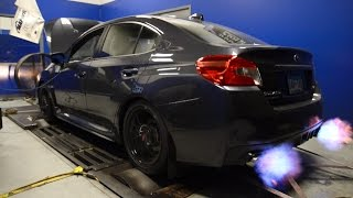 2015+ Subaru WRX Flex Fuel Dyno Results and FLAMES!