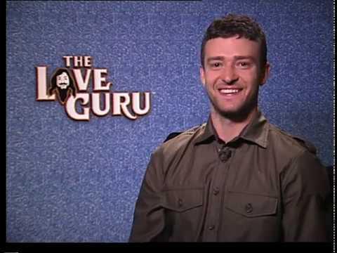 Justin Timberlake Interview - The Love Guru ( 2008)