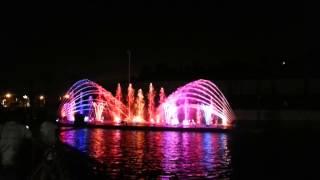 מזרקה מוזיקלית פארק אשדוד ים.