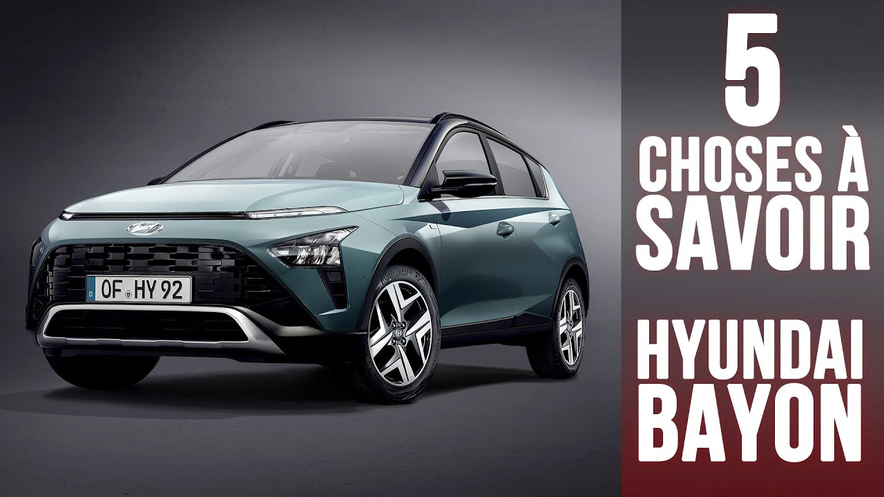Download Hyundai Bayon, 5 choses à savoir sur le SUV urbain sud-coréen