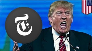 Trump tax returns: New York Times breaks story on Trump's $916 million tax write-off - TomoNews