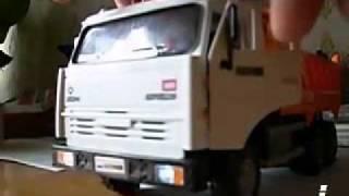 видео: игрушка Камаз 6520 - Чёрные глаза